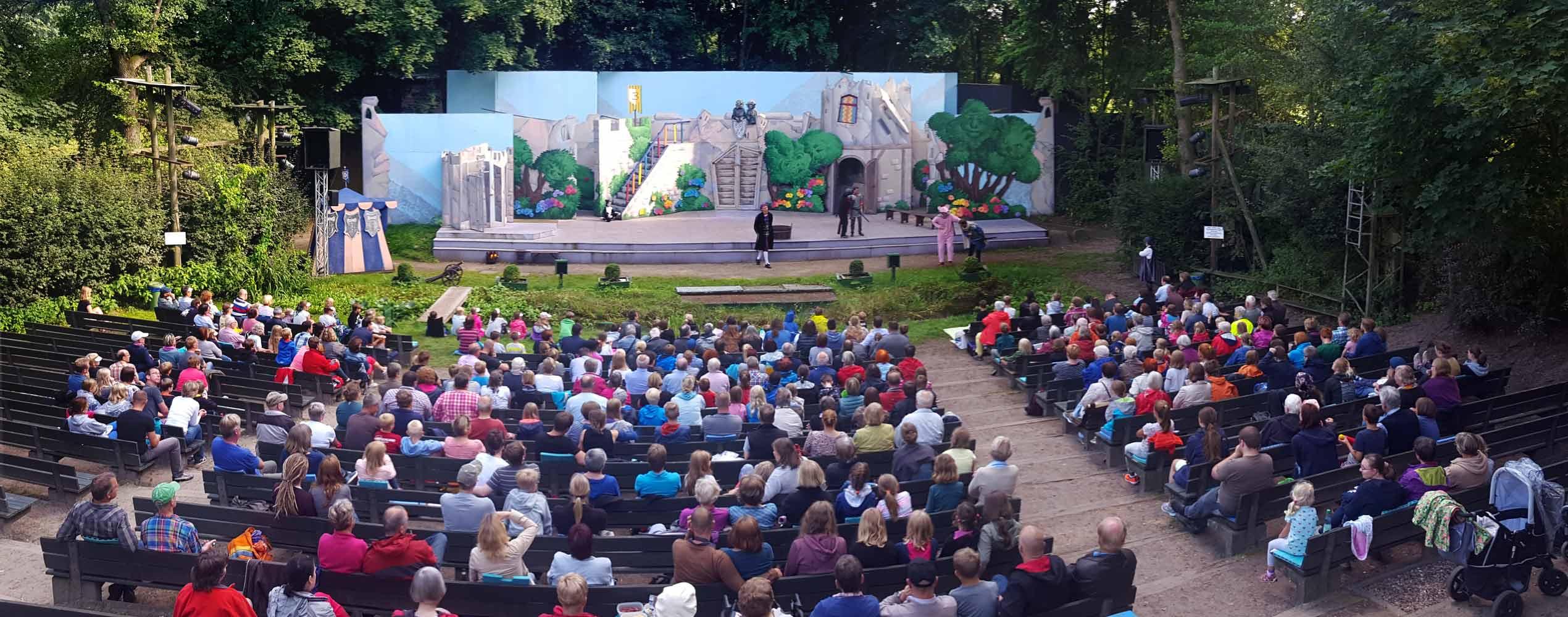 Freilichtbühne Lilienthal Bühne